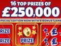 Biggest UK scratch card winners